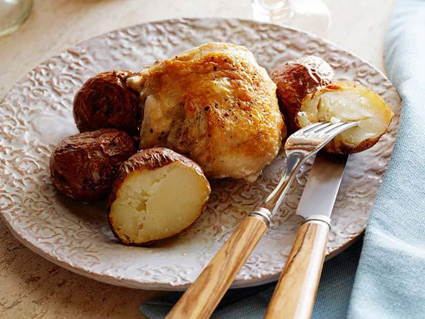 Roasted Rosemary Chicken with Potatoes