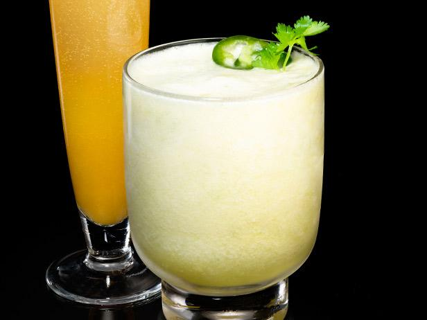 Pineapple-Jalapeno Daiquiris