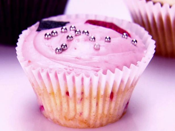 Lemon-Raspberry Cupcakes with Raspberry-Balsamic Cream Cheese Frosting