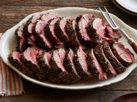 Peppercorn Roasted Beef Tenderloin
