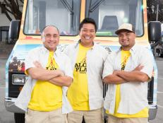 Get to know the guys of Aloha Plate from Season 4 of The Great Food Truck Race on Food Network.