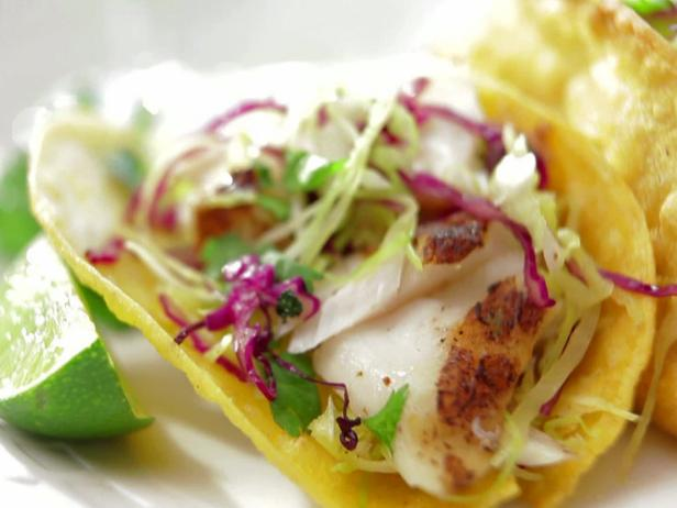Grilled fish tacos with vera cruz salsa recipe bobby for Fish taco recipie