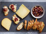 Cheese Plate with Grape Tapenade