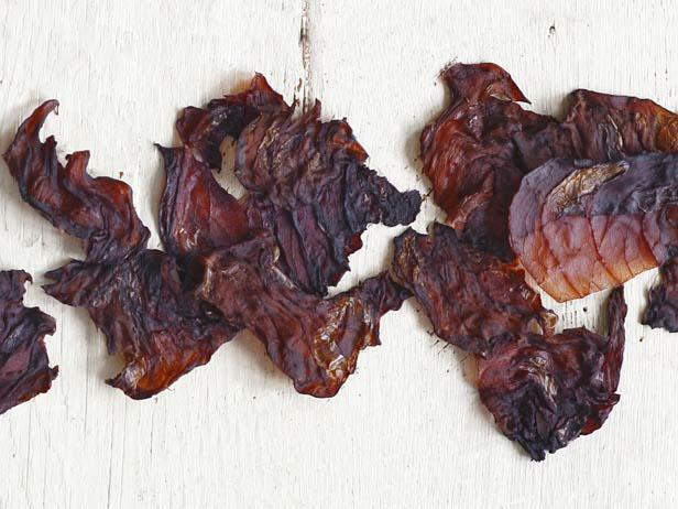 Red Cabbage Chips