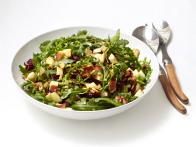 Arugula with Apples and Walnuts