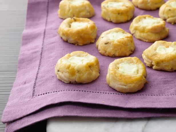 Lavender Gin Goat Cheese Cookies