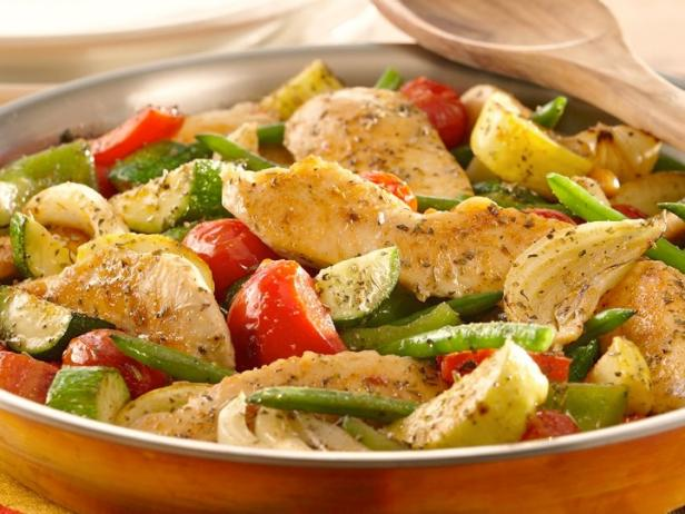 Italian Chicken and Vegetable Skillet