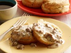 Slather biscuits in Ree Drummond's comforting, top-rated Sausage Gravy recipe from The Pioneer Woman on Food Network.