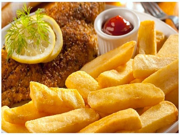 Easy Fish Chips Supper