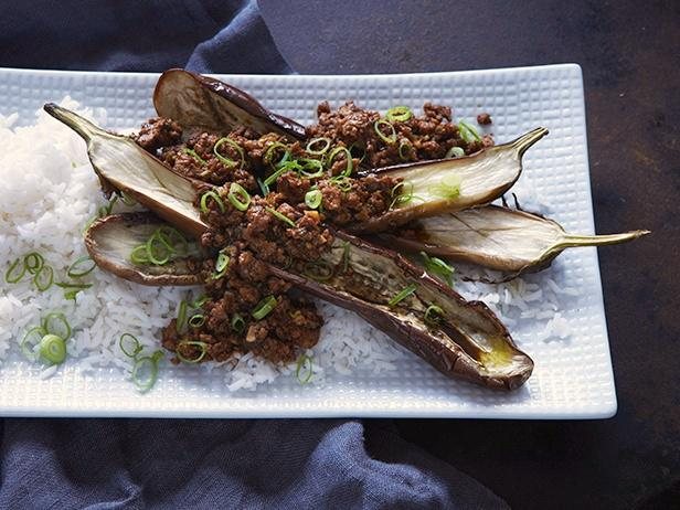 Roasted Eggplant with Sichuan-Style Pork