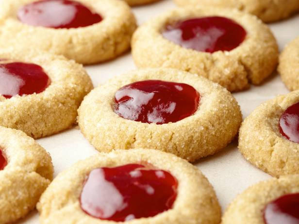Sunny's Holiday PB and J Thumbprints