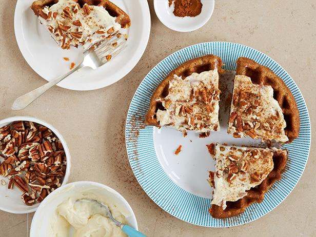 Waffled Carrot Cake