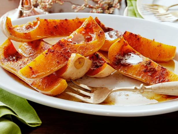 Roasted Squash with Brown Butter and Cinnamon