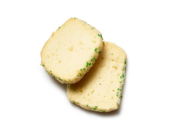 Lime Icebox Cookies