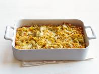 New Mexicali Green Chile-Cheese Kugel