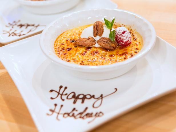 Three Spice Creme Brulee