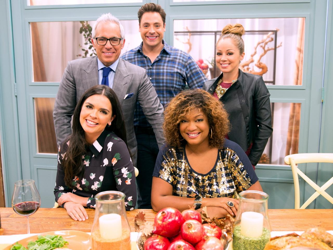 the kitchen food network cast meet the cohosts of the