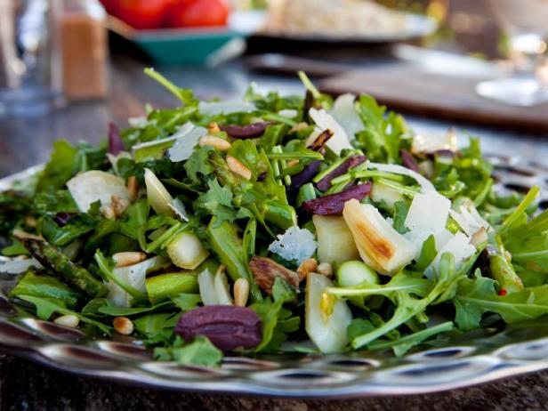 grilled fennel and asparagus salad - Ina Garten Fennel Salad