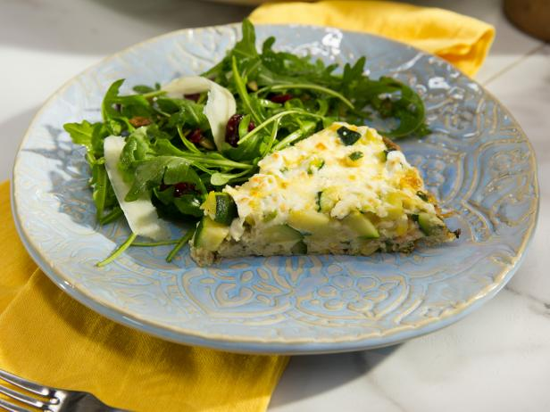 Seasonal Mexican Frittata with Salad