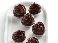 Mini Chocolate Ganache Cupcakes
