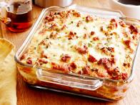 Sausage-and-Cheese Pancake Breakfast Casserole