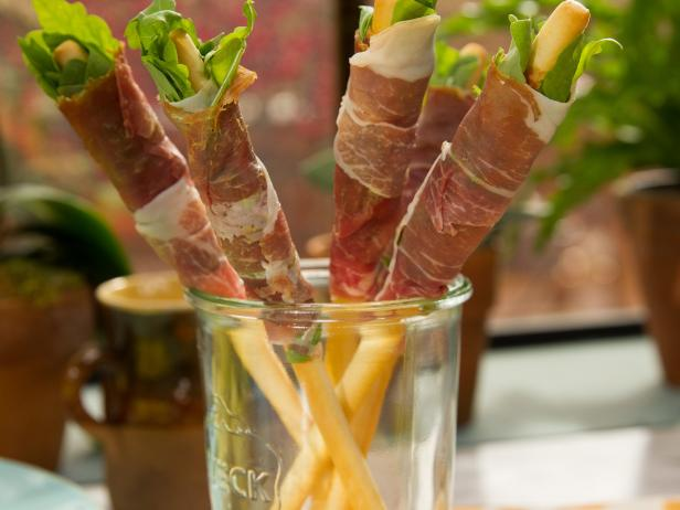 Prosciutto Salad on a Stick