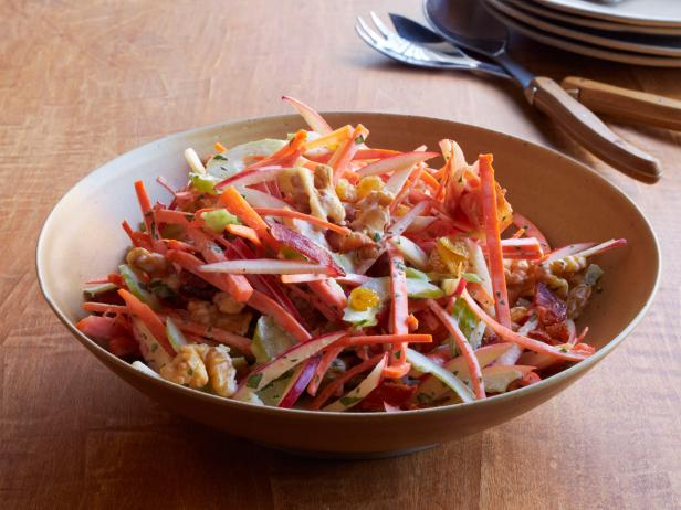 Waldorf Slaw with Bacon