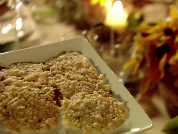 parmesan crisps - Food Network Com Barefoot Contessa Recipes
