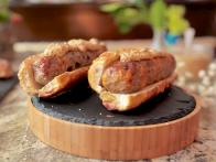 Mushroom and Cheddar Pork Sausages