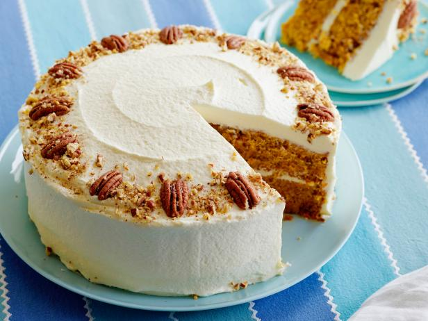 Carrot Cake with Cream Cheese Frosting Recipe | Food ...