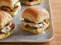 Pretzel-Mustard-Crusted Pork Tenderloin Sliders