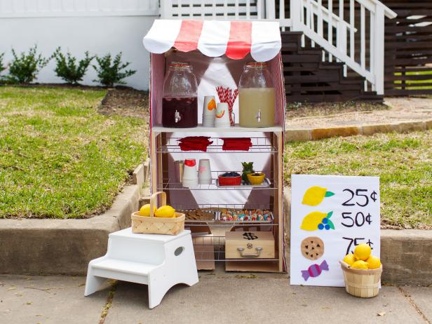 How To Set Up A Summer Lemonade Stand Food Network