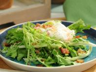 Frisee Salad with Egg and Bacon