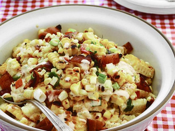 Chipotle Corn Salad with Grilled Bacon