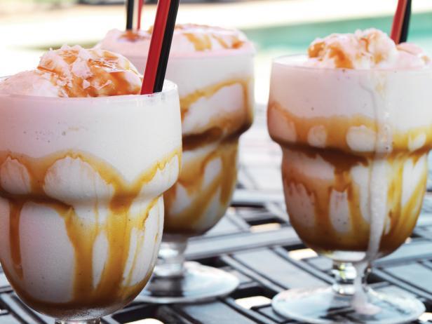 Salted Bourbon Caramel Milkshake