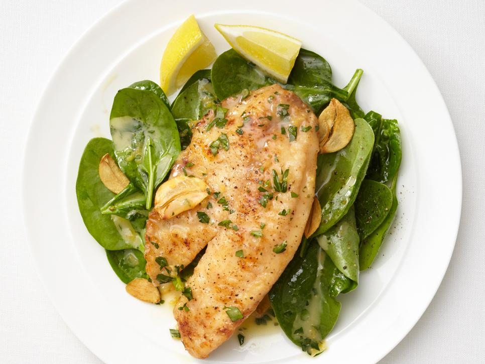 Tilapia recipes food network recipes dinners and easy for Tilapia fish recipe