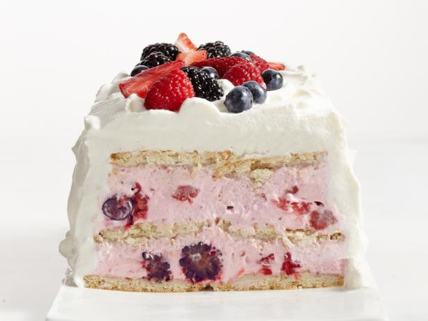 Lemon-Berry Icebox Cake