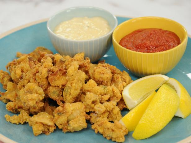 Sunny's Easy Fried Cajun Clams