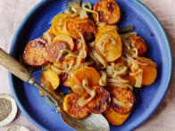 Sweet Potato Lyonnaise