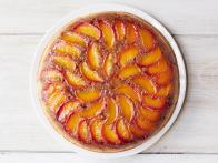 Peach-Bourbon Upside-Down Cake