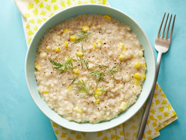 Corn-and-Oat Risotto
