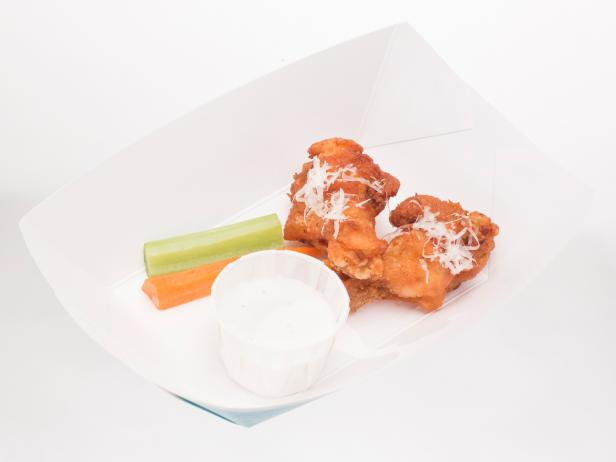 Little Italy Wings with Blue Cheese Sauce