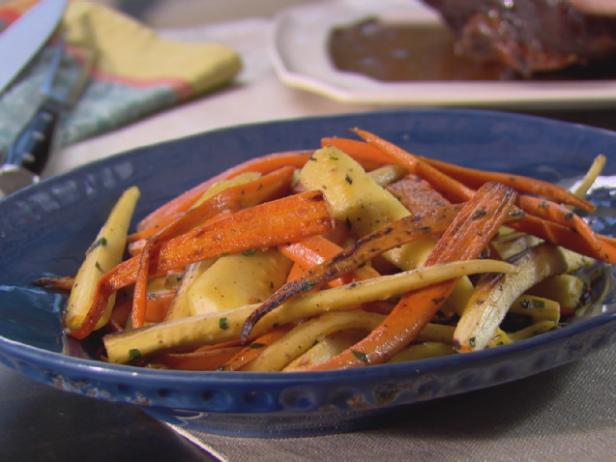 Sauteed Parsnips and Carrots