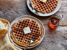 The Pioneer Woman's classic Waffle recipe for Food Network is the perfect way to feed a hungry breakfast crowd.