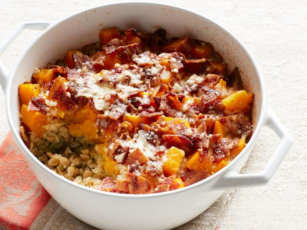 baked farro and butternut squash - Ina Garten Baked Bacon