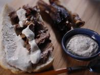 Prime Rib Sandwiches with Horseradish Sauce