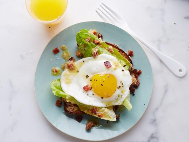 Bacon-and-Egg Breakfast Caesar Salad