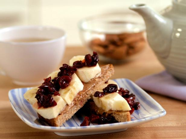 Cherry-Banana Toast