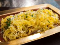 Roasted Spaghetti Squash with Parmigiano-Reggiano and Truffle Oil