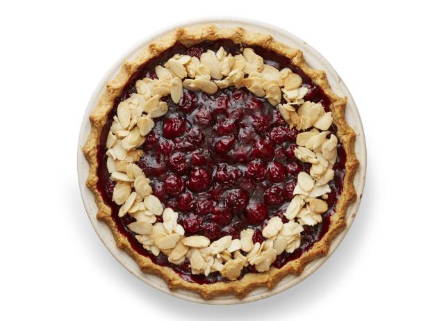 Sour Cherry-Almond Pie
